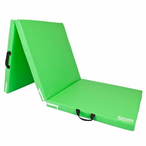 Green Tri Folding Yoga Mat