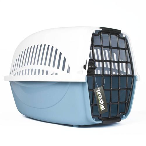 Hard Blue Pet Carrier - Large