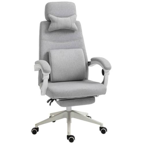 Grey Ergonomic Home Office Chair