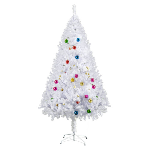 5.9FT Artificial Christmas Tree With Ornaments