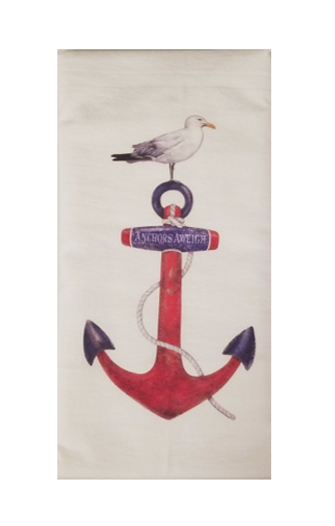 Anchor Aweigh Kitchen Towel