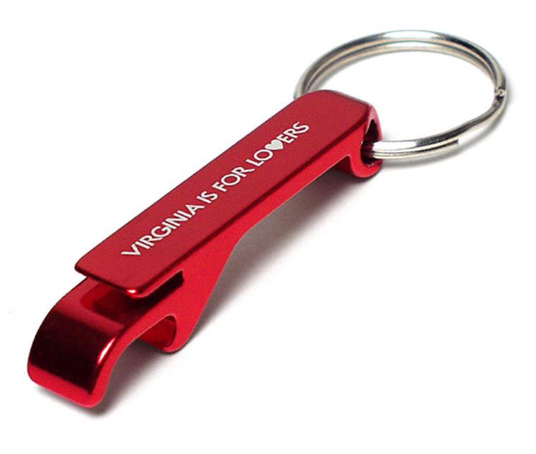 VA Lovers Bottle Opener Keychain