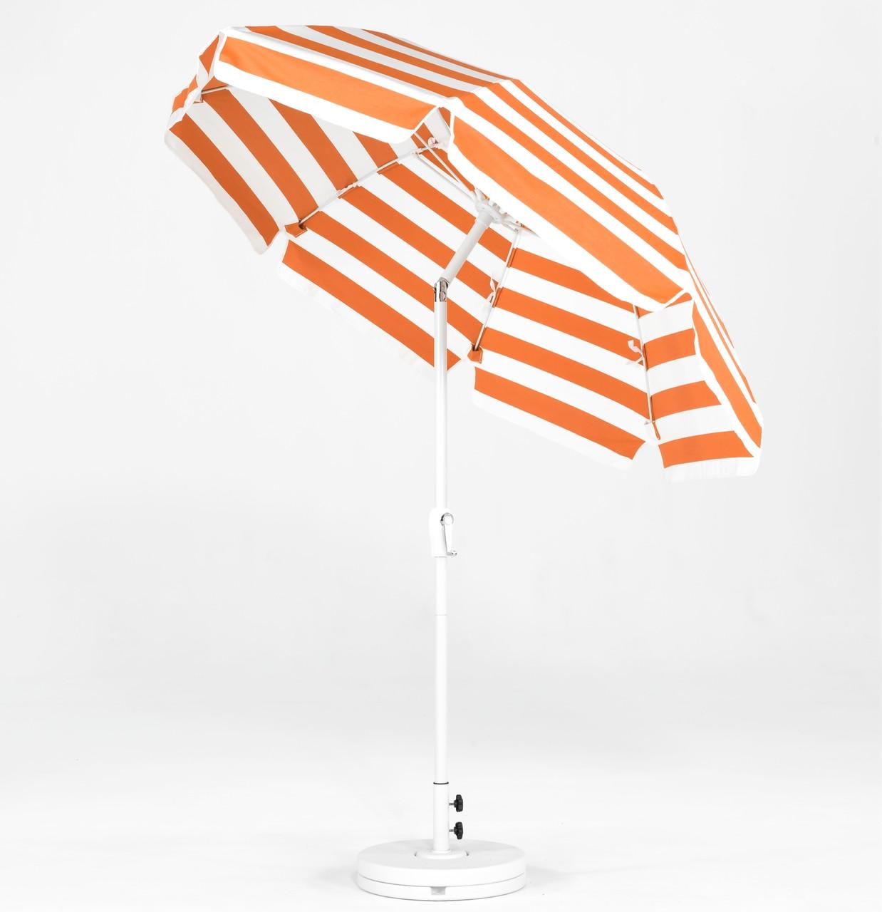 Commercial Grade Fiberglass Patio Umbrella With Crank