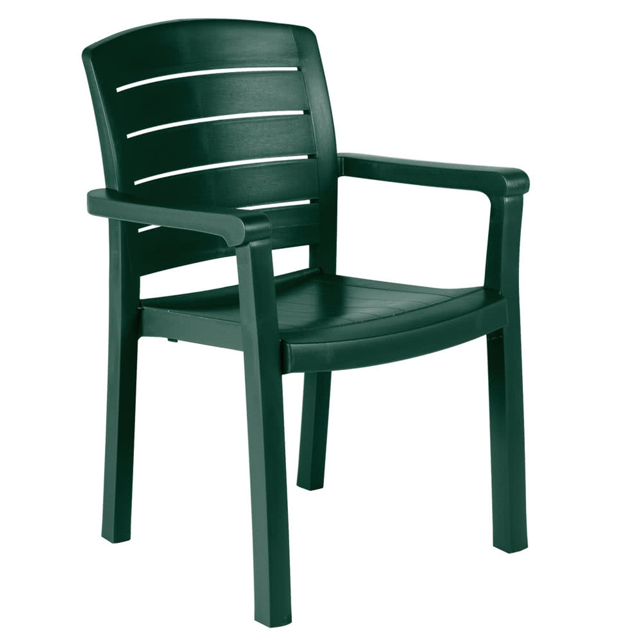 Grosfillex Acadia Stacking Resin Arm Chair Low Price
