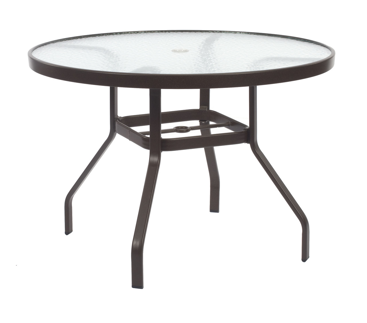 Resort Contract Acrylic Round Dining Table