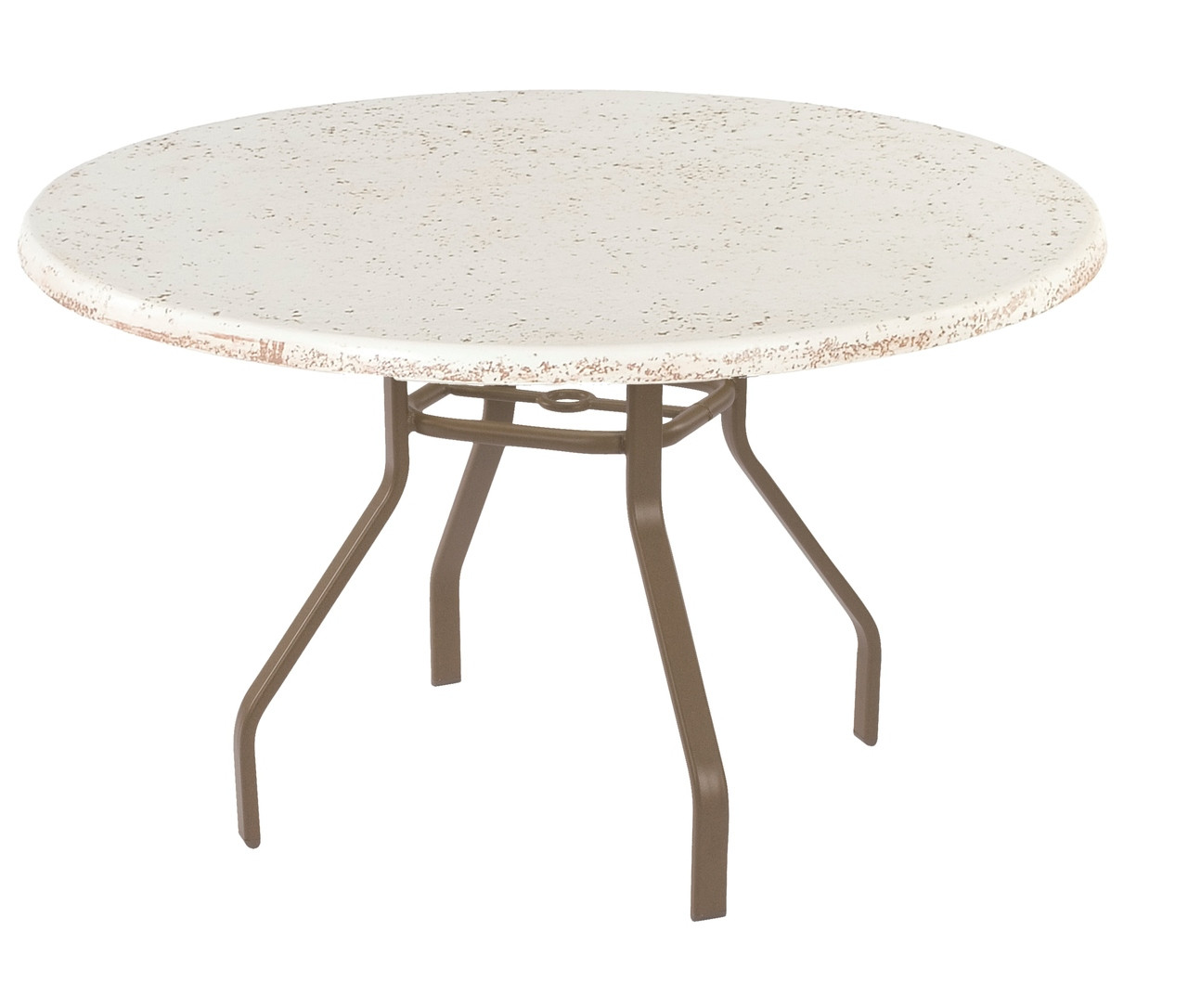 Resort contract faux stone round dining table resort furniture and chairs