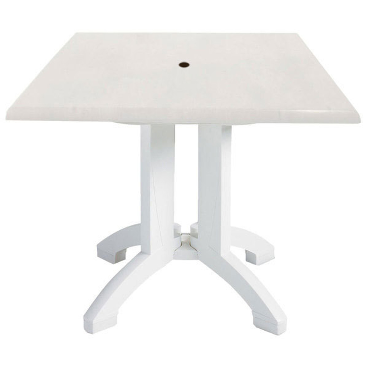 Grosfillex Atlanta Square Dining Table Outdoor Dining