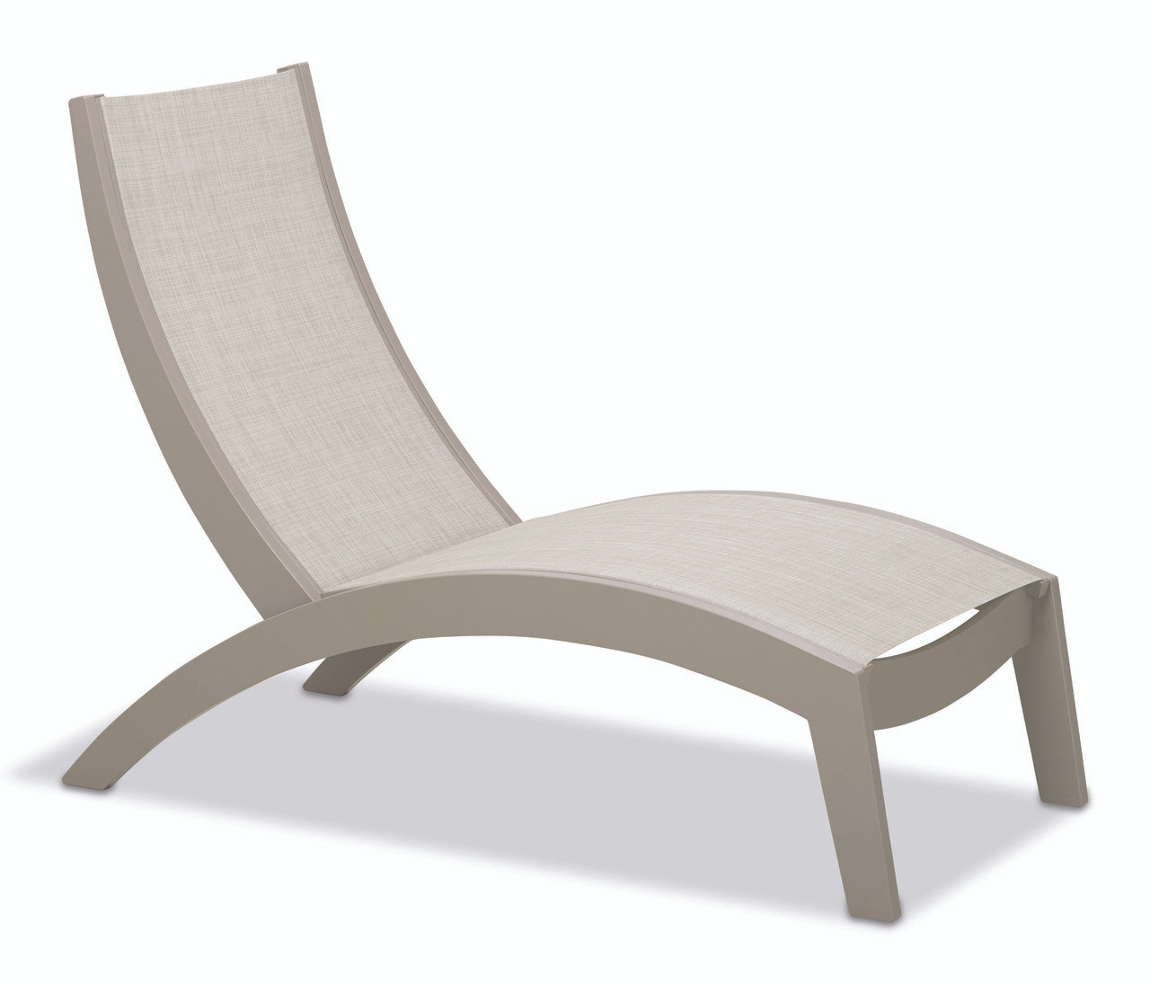 Telescope casual dune mgp sling stacking hydro lounge chaise patio furniture