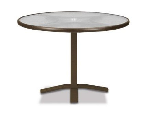 Acrylic Outdoor Furniture Kid Telescope Casual Obscure Acrylic Round Pedestal Dining Table Amazoncom Telescope Casual Obscure Acrylic Round Pedestal Dining Table Patio