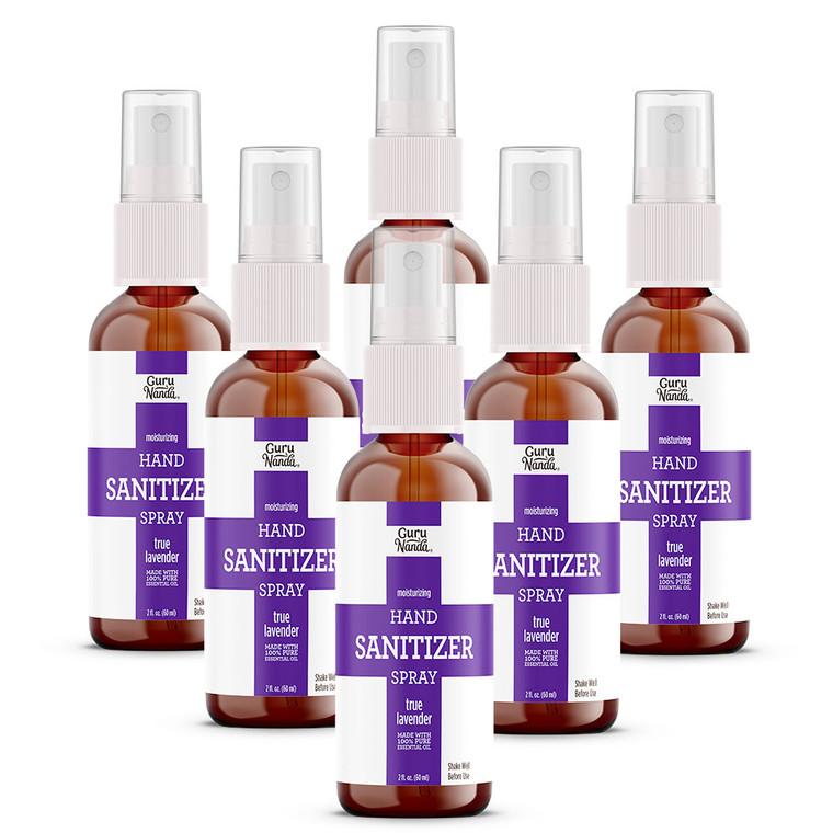 Lavender Hand Sanitizer 6 Count, 2 oz each