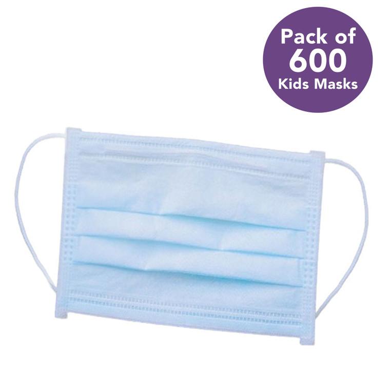 Guru Nanda Kids Disposable Face Mask pack of 600