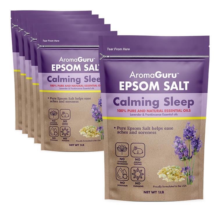 Aroma Guru Calming Sleep Epsom Salt - 6 Count