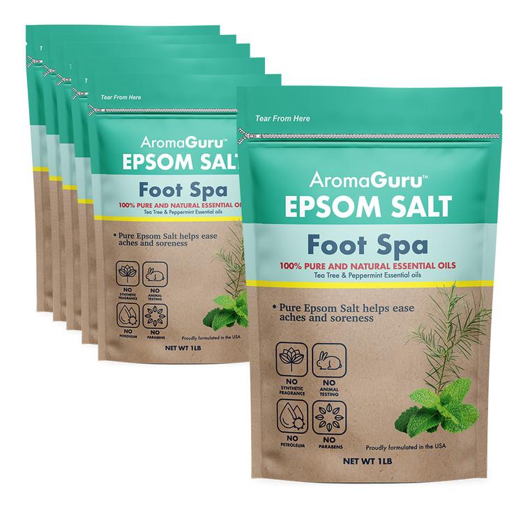Aroma Guru Foot Spa Epsom Salt - 6 Count