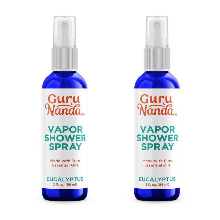 GuruNanda Vapor Shower Spray Bottles