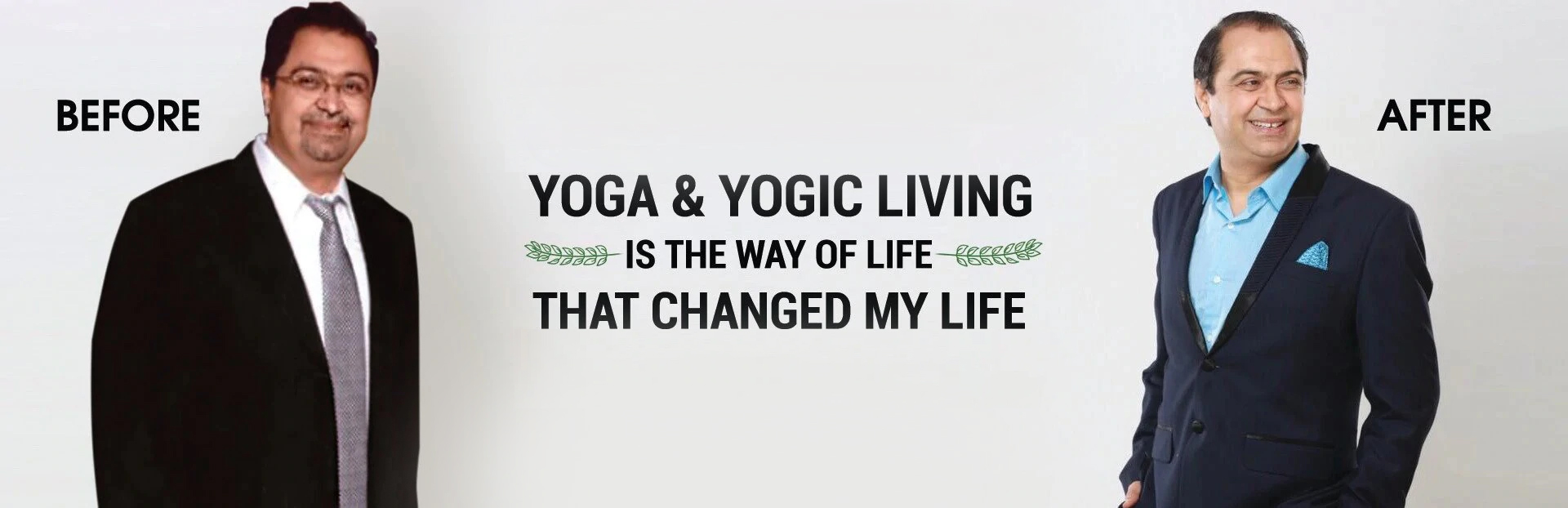 Puneet Guru Nanda Before & After Yoga