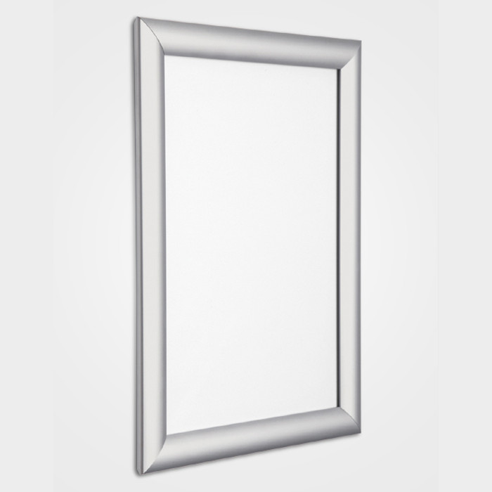 d4c85890a1d 25mm Anodised Silver Snapframe. Home · Snapframes · Budget Snapframes ...