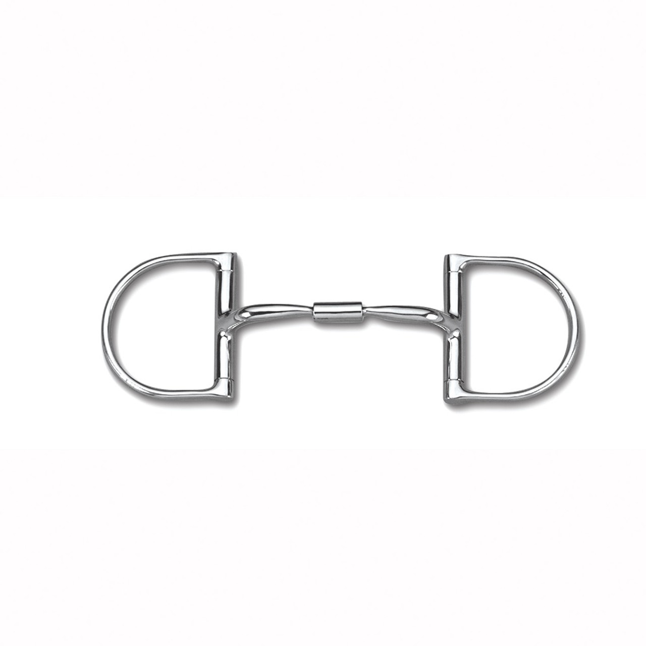 Myler Eggbutt Without Hooks with Stainless Steel French Link Snaffle