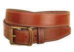 Tory Leather 1.5 Stitched Belt - Oak