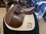"Used 17"" Courbette Arosa Close Contact Saddle"