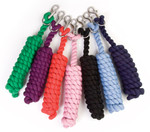 Shires Heavy Duty 8' Cotton Lead with Chain