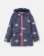 Joules Kids Raindance Showerproof Rubber Raincoat - 1-12 Years