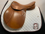 "Used 16.5"" Kanon Imperial Close Contact Saddle"