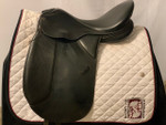 """Used 17"""" County Competitor Dressage Saddle"""