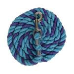 "Perri's1/2"" Bright Cotton Lead - Turquoise/Purple"