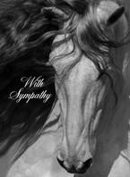 Gorgeous Gray Sympathy Card