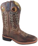 Smoky Mountain Kids' Jesse Square Toe Leather Boots