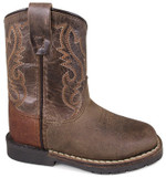 Smoky Mountain Toddler Autry Square Toe Leather Boots