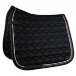 HKM Rosegold Glamour Dressage Saddle Pad