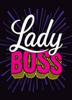 Boss Lady Birthday Card