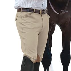 Ovation Men's Euroweave Knee Patch Breech