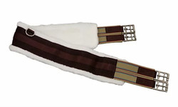 Horse Fare Products Fleece Lined Nylon Girth