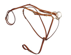 Tory Leather German Martingale