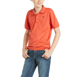 Ariat® Youth Tek Polo - Spice Isle