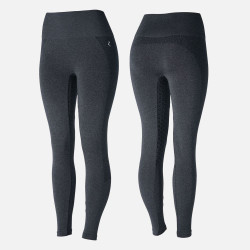 Horze Womens Naomi Seamless Silicone Full Seat Tights