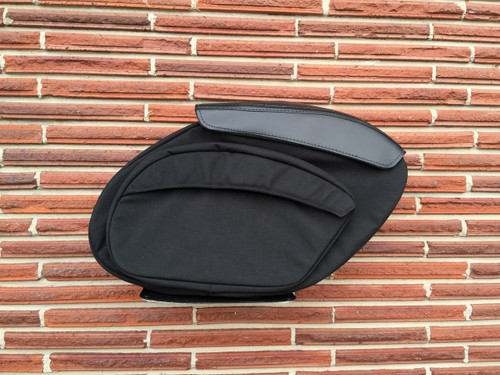 Retro Series Sportster Saddlebags - Single