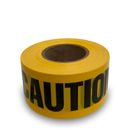 "Yellow ""Caution DO NOT ENTER"" Tape 2mil 3""x1000' ( 16 Roll Case / $10.99 Per Roll)"