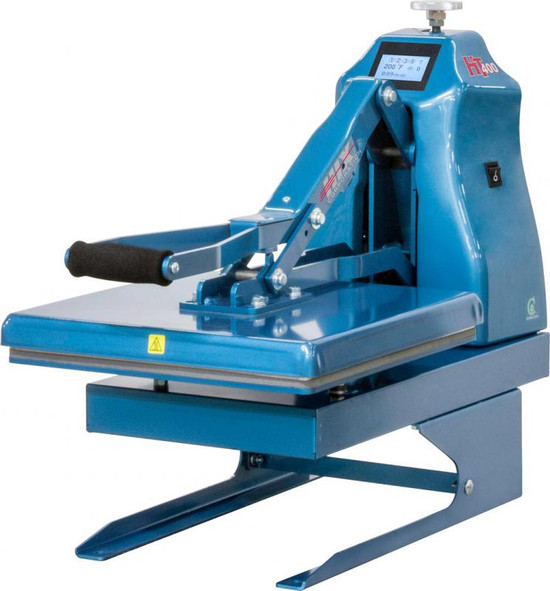 HIX HT-400 Digital Manual Clam Heat Press