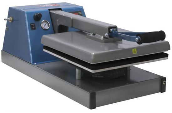 "HIX N680 Digital Automatic Air-Operated 15"" x 15"" Clam Heat Press"