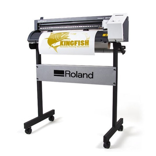 Roland CAMM-1 GS-24 Vinyl Cutter Package