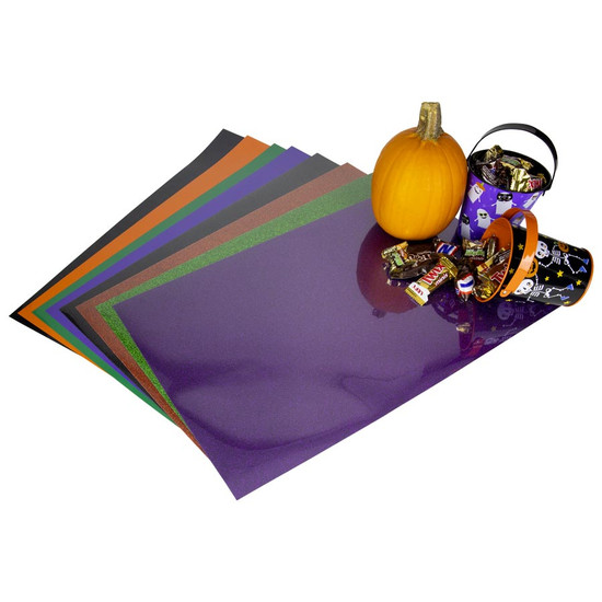 Siser Halloween Pack of EasyWeed and Glitter