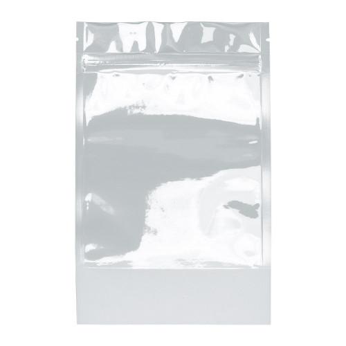 Mylar Bag 1oz White/Clear
