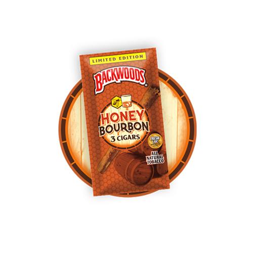 Honey Bourbon Backwoods 3 Pack