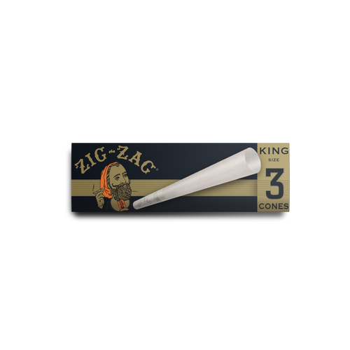 Zig Zag King Size Cones 3 Pack