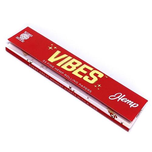 Vibes KS Hemp (Red) Papers