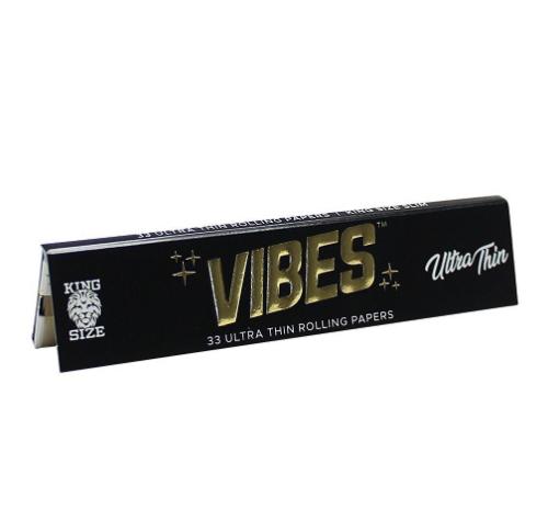 Vibes KS Ultra Thin (Black) Papers