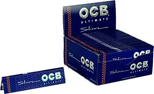 OCB Ultimate Slim Papers w/ Tips
